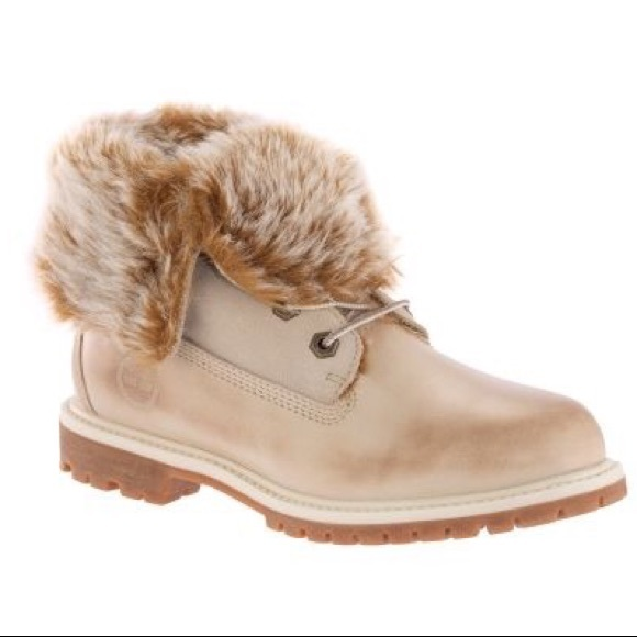 Timberland Womens Fur Lined Foldover